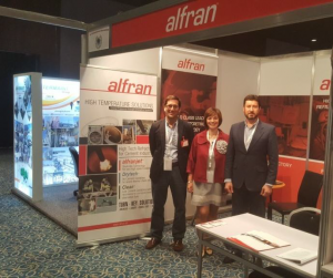 stand de Alfran en AICCE 22